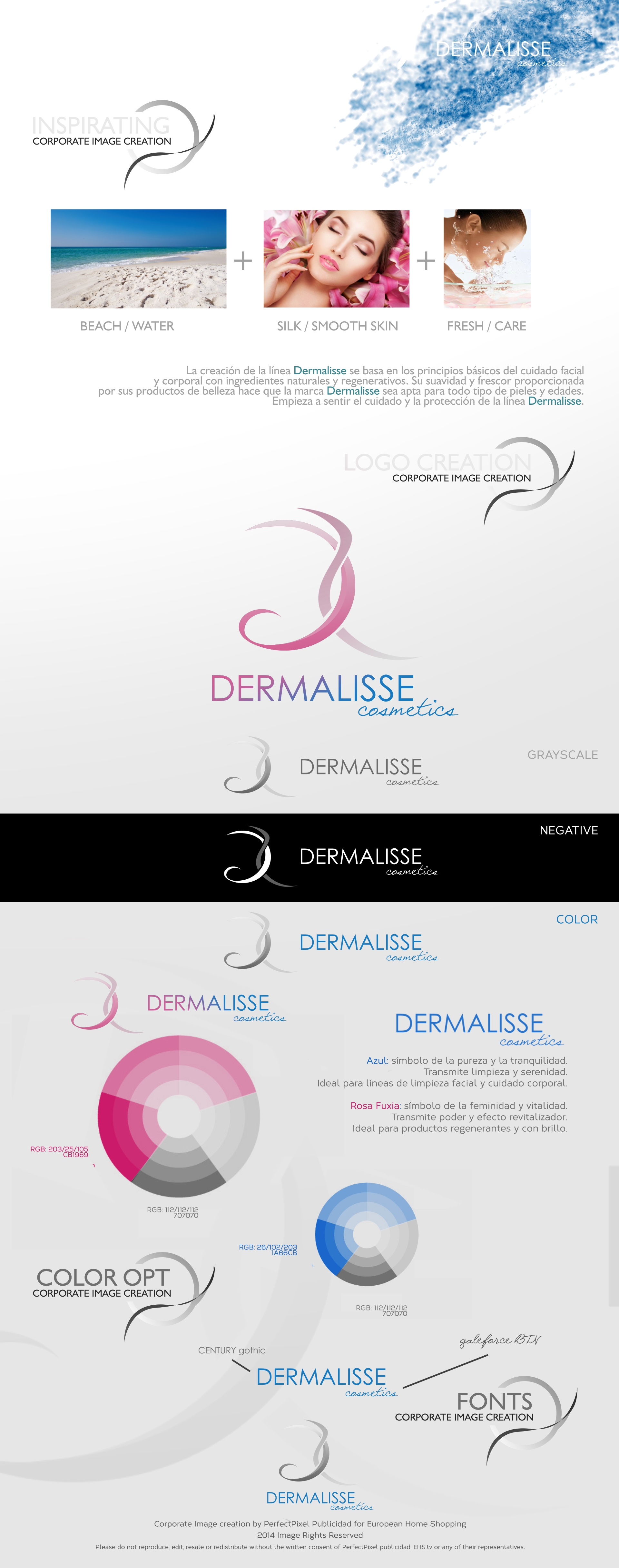 New Corporate Image for Dermalisse Cosmetics