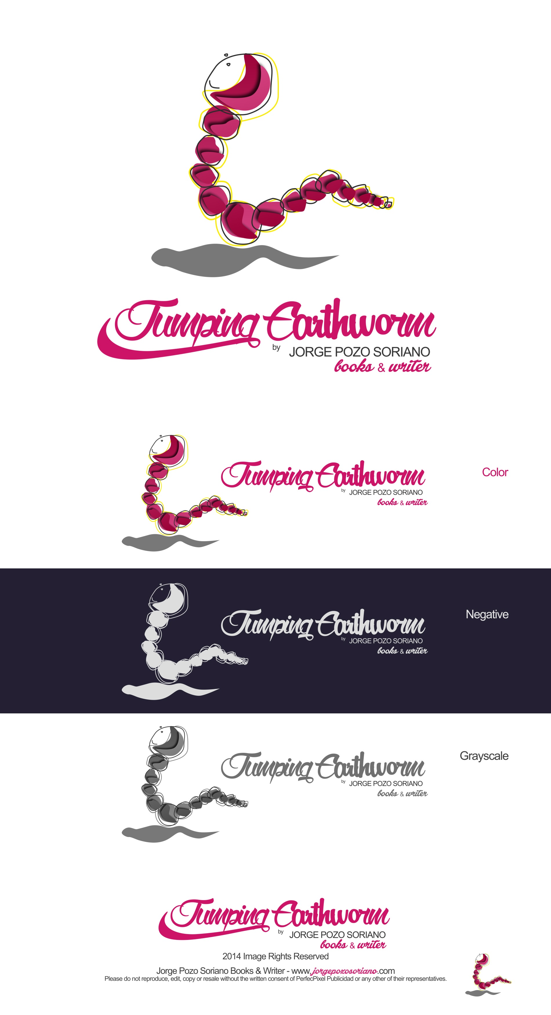 Jumper Earthworm by Jorge Pozo Soriano (Books & Writer) - Website and Corporate Image Design