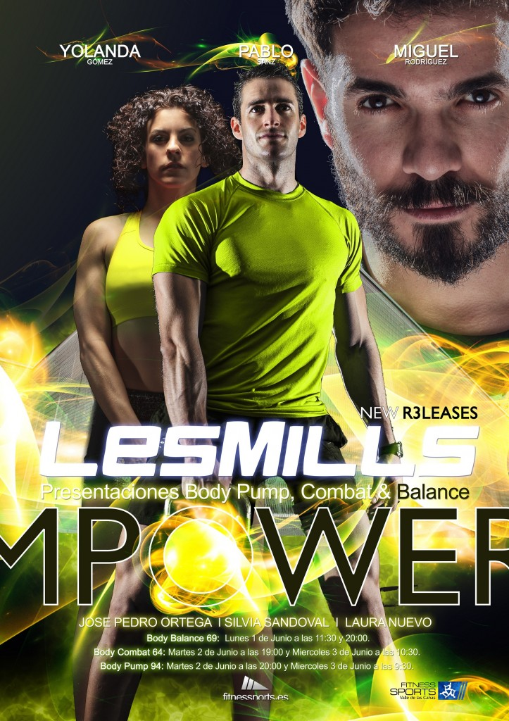 Les Mills Empower New R3leases Advertisment for FSVC