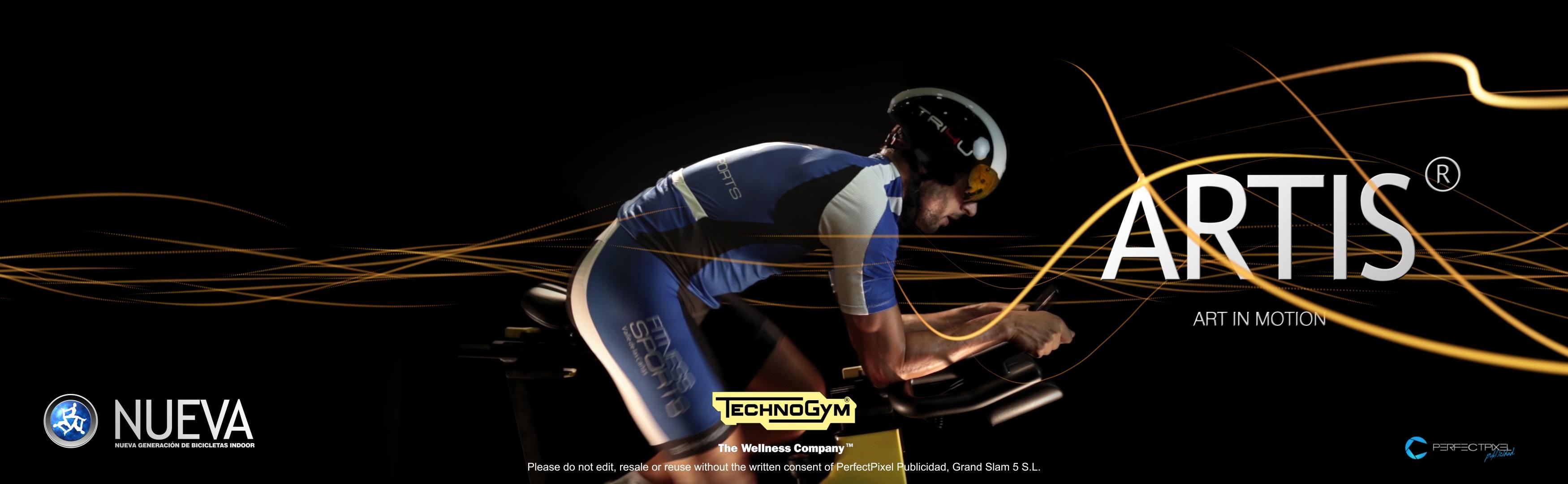 Bicicletas ARTIS Technogym by PerfectPixel Publicidad