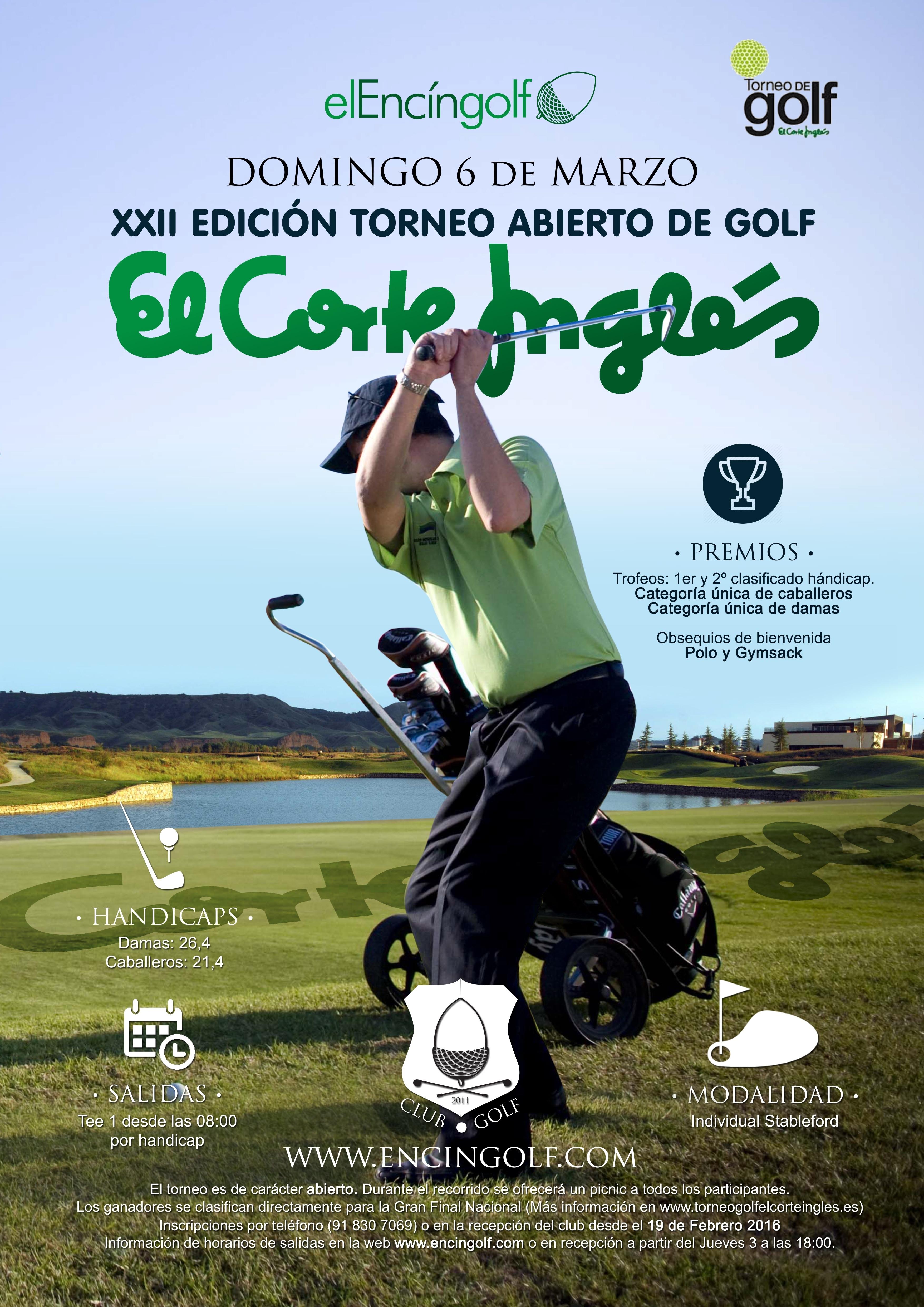 Encin Golf El Corte Inglés